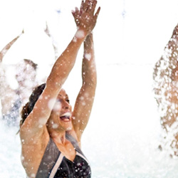 AquaFusion alla piscina di Bastia