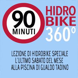HIDRO-BIKE 360° Appuntamento mensile da 90 min.