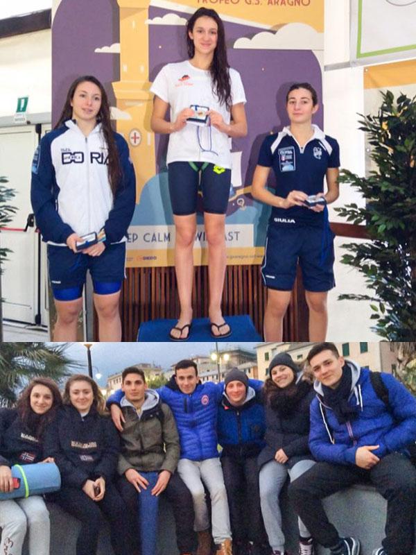 L'Azzurra Race Team 'conquista' Anche Il Meeting Di Genova