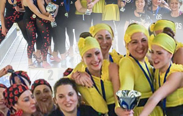Acquafitness, le ragazze di Gualdo Tadino sono campionesse italiane!