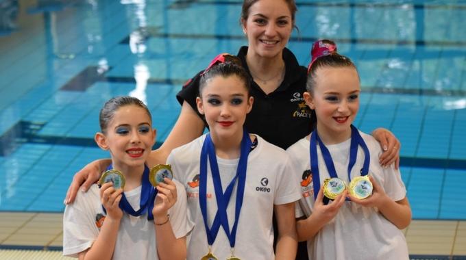 Sincro, Azzurra Race Team dalla piscina di Assisi alla conquista del campionato regionale