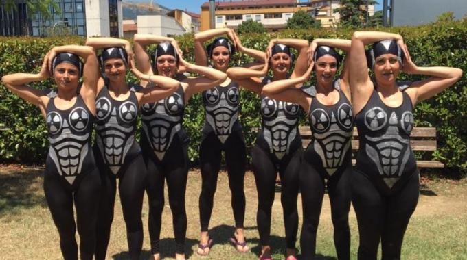 Al via i campionati Italiani di acquafitness con le ragazze di Azzurra Race Team tra le favorite