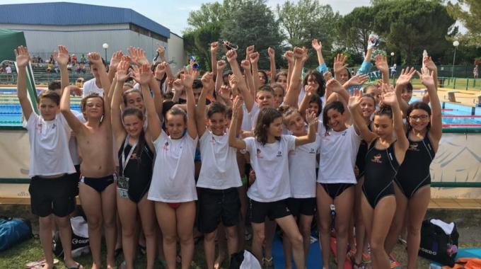 Azzurra Race Team, che inizio nella stagione in vasca lunga!
