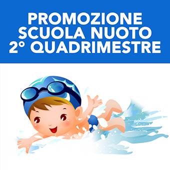 Promozione Scuola nuoto 2° Quadrimestre