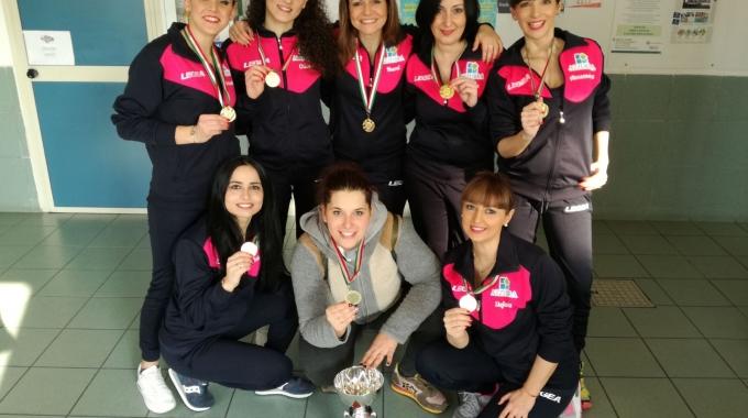 Acquafitness, Azzurra Race Team ancora d'oro nel campionato nazionale di Torino