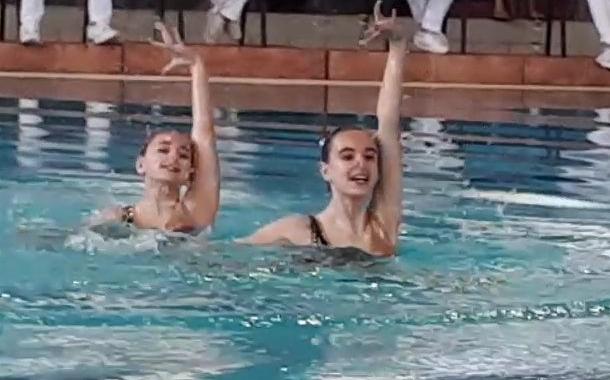 """Sincro, fantastico 7° posto per Giulia Rosi e Sofia Rosignoli nella gara FIN """"Tutti in piscina 2018"""""""