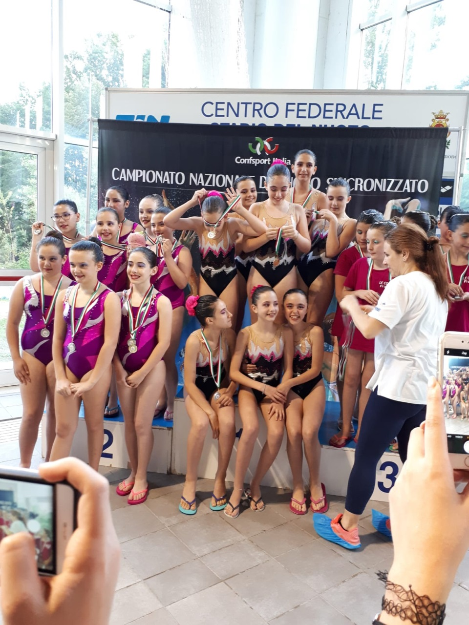Sincro, Esordienti A e B da applausi al campionato nazionale Confsport di Frosinone