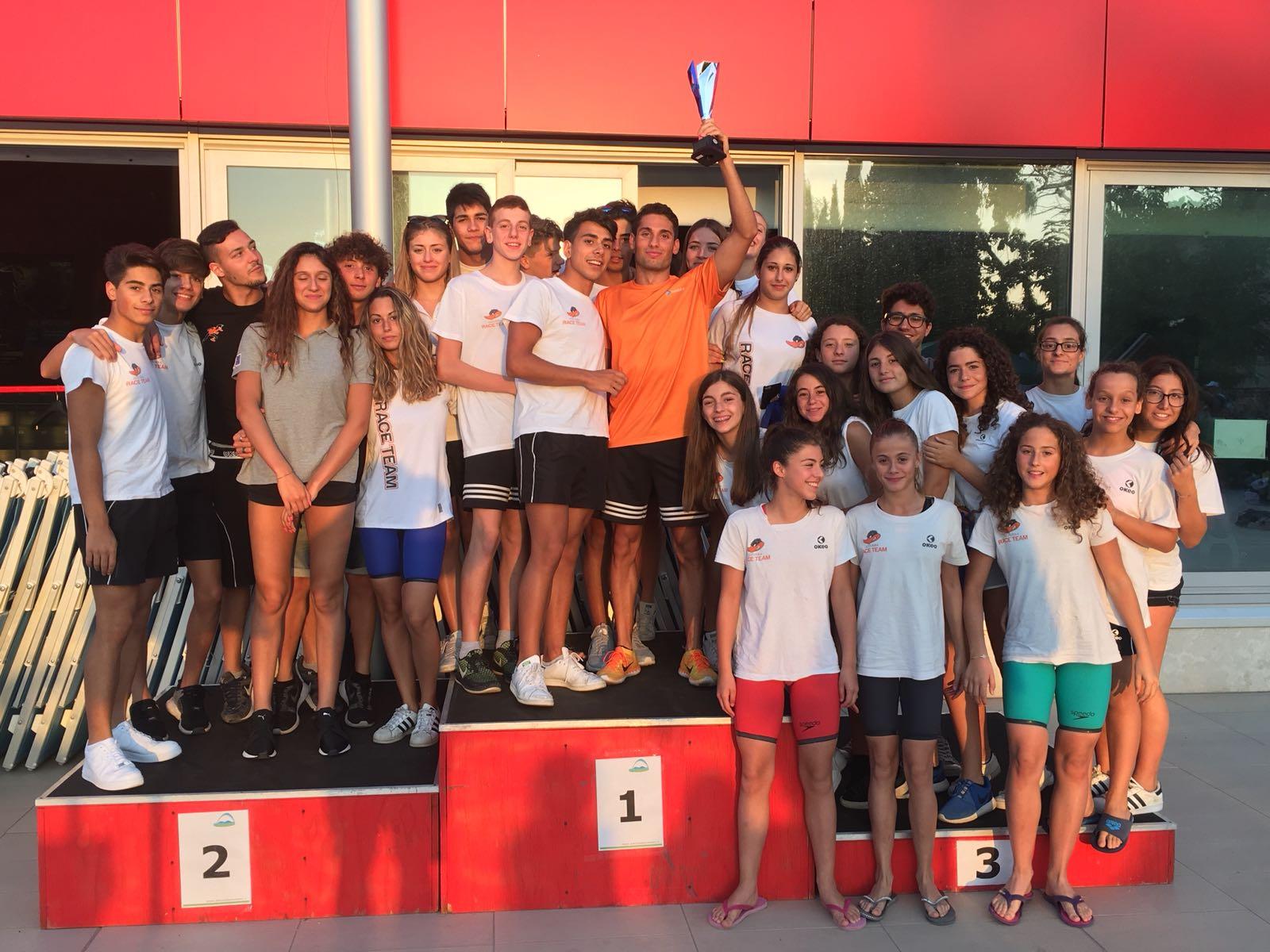 Regionali 2018, l'Azzurra Race Team mai così in alto!