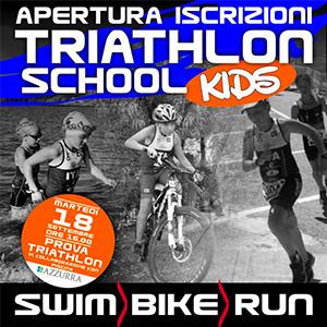 Apertura iscrizioni Triathlon School Kids