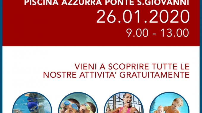 26.01 : OPEN DAY a Ponte S.Giovanni