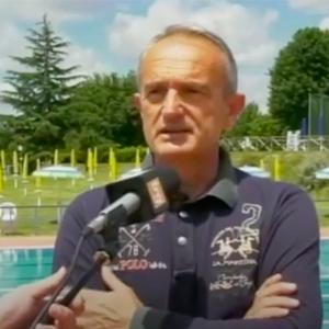 Intervento del Presidente su Trg per apertura piscina Gubbio