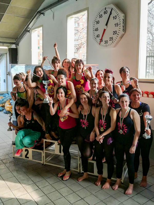 Azzurra Conquista L'oro Ai Criterium Aquafitness Di Torino